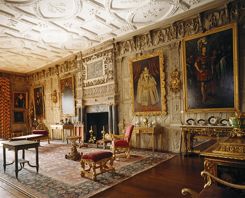 The ballroom at Knole
