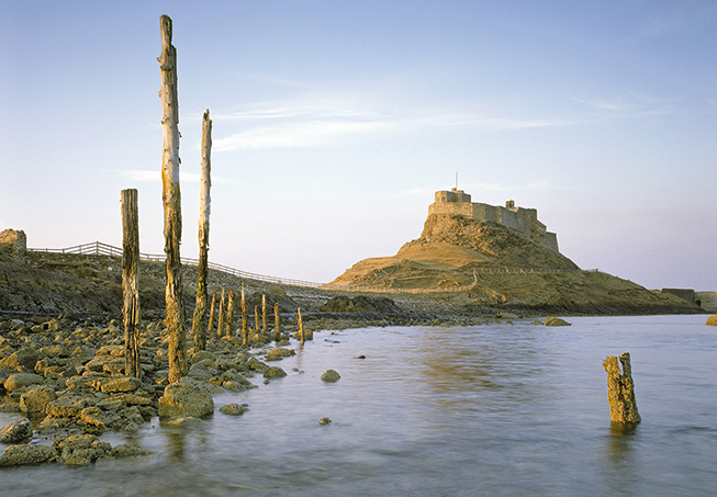 Northeast coast of England, Lindisfarne, LIndisfarne Castle, British islands