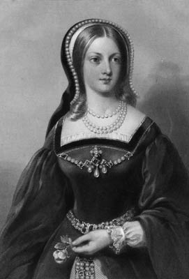 Portrait of Lady Jane Grey, from an engraving by W Holl