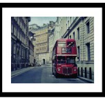 Let's go - Original Routemaster bus in Westminster