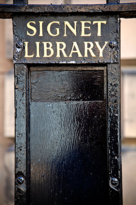 Letterbox at the Signet Library. Credit: © Loop Images Ltd/Alamy