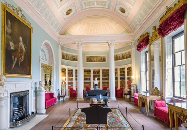 Robert Adam Library, Kenwood House, Hampstead Heath, North London, London's stately homes