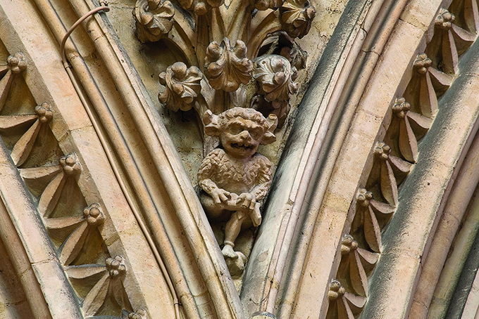 The famous Lincoln Imp inside Lincoln Cathedral | Things to do in Lincoln | Lincolnshire