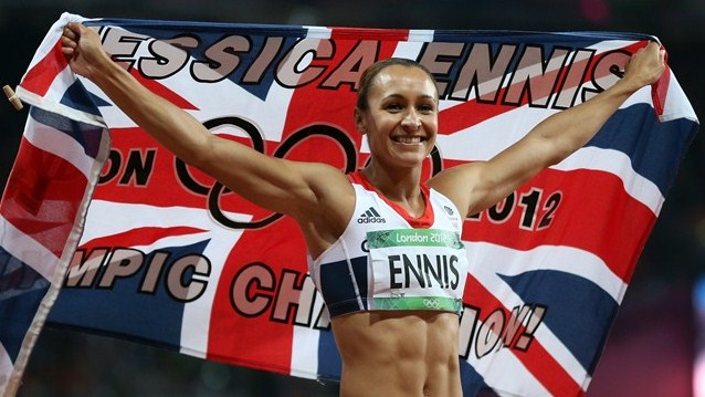 London 2012 Olympic Jess Ennis