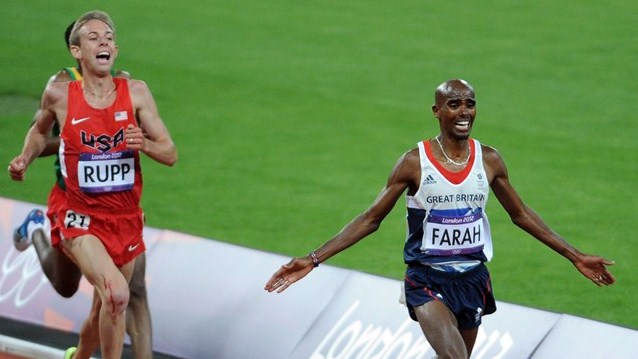 London 2012 Olympic Mo Farah