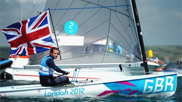 London 2012 Olympics Ben Ainslie