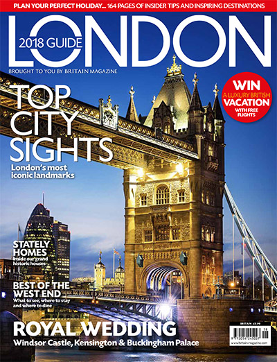 London 2018 Guide cover | Royal wedding, royal palaces, London landmarks