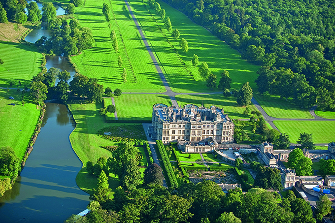 The grounds of Longleat, Wiltshire, were landscaped by Capability Brown in the 18th century