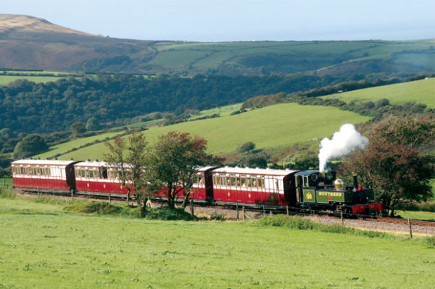 Lynton and Barnstaple Railway, Exmoor National Park from Small Island by Little Train. Image courtesy of courtesy of Tony Nicholson