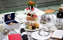 Mad Hatters Tea at the Sanderson Hotel