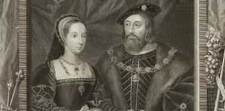 Mary Tudor with Charles Brandon