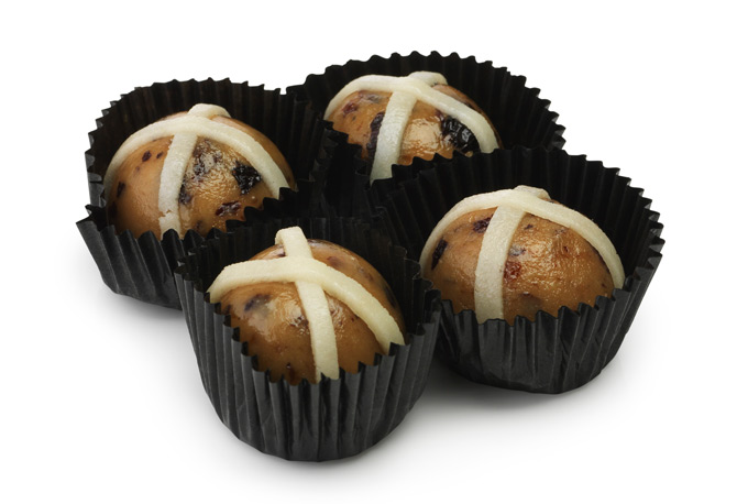 Easter gift guide top 10 marzipan hot cross bun 250 nrmshop negle Gallery