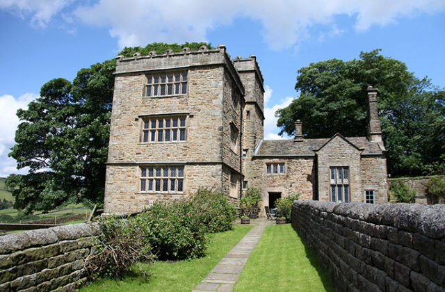 North Lees Hall, Hathersage, was the inspiration for Thornfield Hall in Jane Eyre. Peak District photos