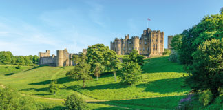 Alnwick Castle, Northumberland. Credit: Philip Sharp / Alamy