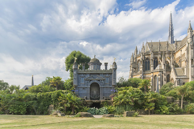 Oberon's Palace, Arundel Castle, West Sussex | Photos of Arundel Castle | british castles | quirky britain