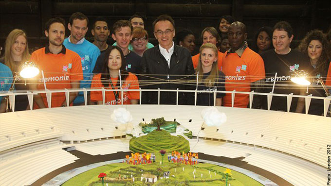 Olympic Stadium Countryside Danny Boyle Opening Ceremony