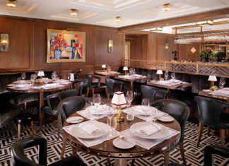 Inside Ormer Mayfair, Michelin-starred chef Shaun Rankin's restaurant within flemings hotel