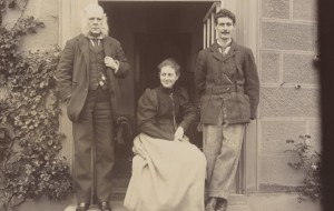 Rupert Potter, Beatrix Potter and Bertram Potter by Rupert Potter