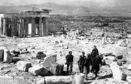 WWII Greece Athens Liberated