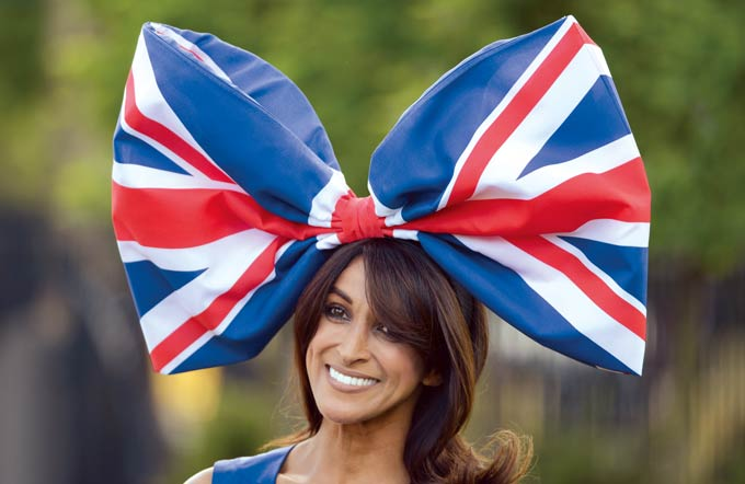 Jackie St Clair attends the first day of Royal Ascot in Berkshire © Press Association