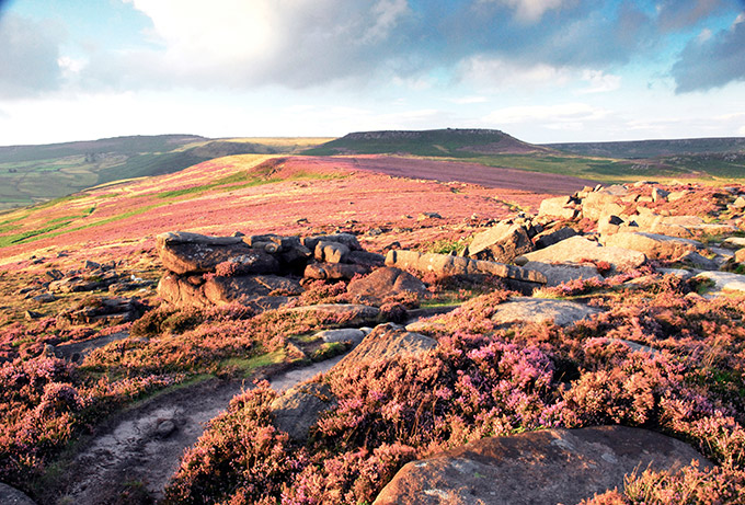 Burbage Moor, Peak District