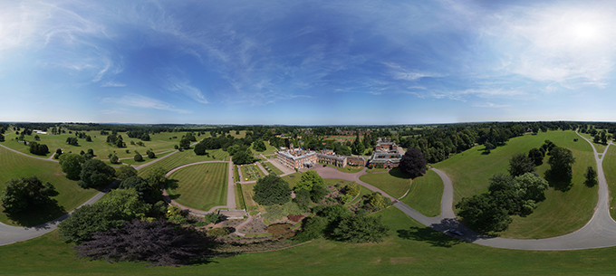 The sweeping views at Weston Park in Shrewsbury are typical of Brown's naturalistic style