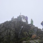 After being lit on Snowden, using the power of human endeavour and teamwork, the Welsh National Flame is carried to the summit of Wales' highest mountain in a Paralympic Torch, by local Scouts.