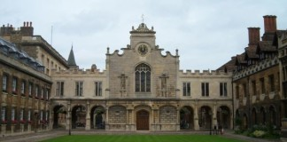 Peterhouse - the oldest of Cambridge colleges