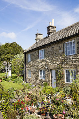 Eyam plague cottages, Peak District, England, UK | Peak District photos