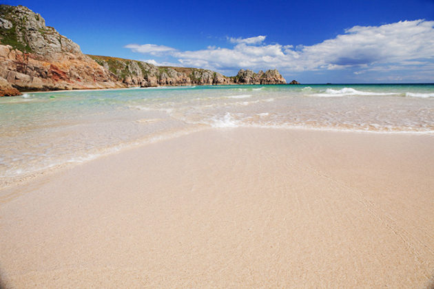 Porthcurno Beach, West Cornwall | Photos of Cornwall | beautiful photos of Cornwall