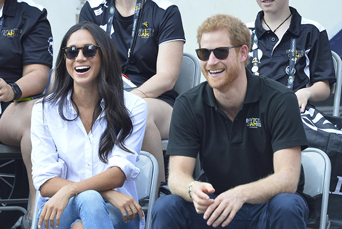 Prince Harry and Meghan Markle at the Invictus Games 2017, Toronto. Prince Harry and Meghan Markle announce their engagement