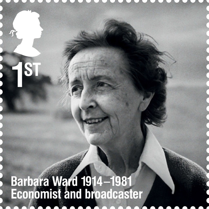 RL Barbara Ward stamp 400