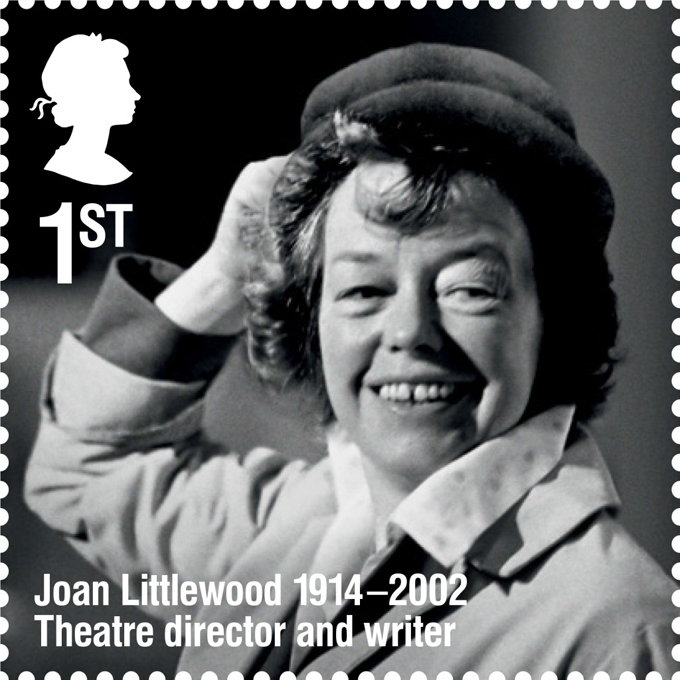 RL Joan Littlewood stamp 400