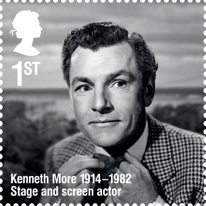 RL Kenneth More stamp 400