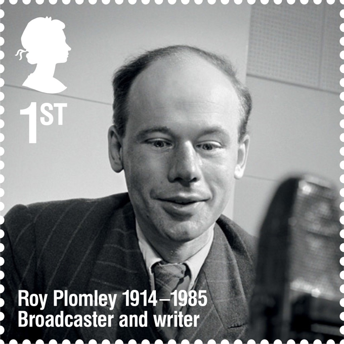 RL Roy Plomley stamp 400