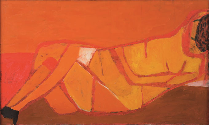 Reclining-Red-Nude,-1956MA