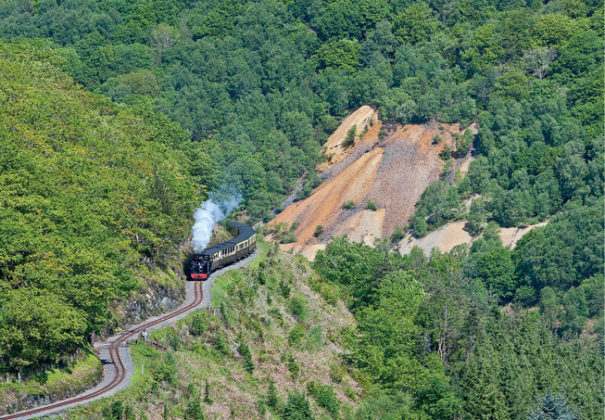 Rheidol Railway, North Wales from Small Island by Little Train. Image courtesy of courtesy of John R. Jones