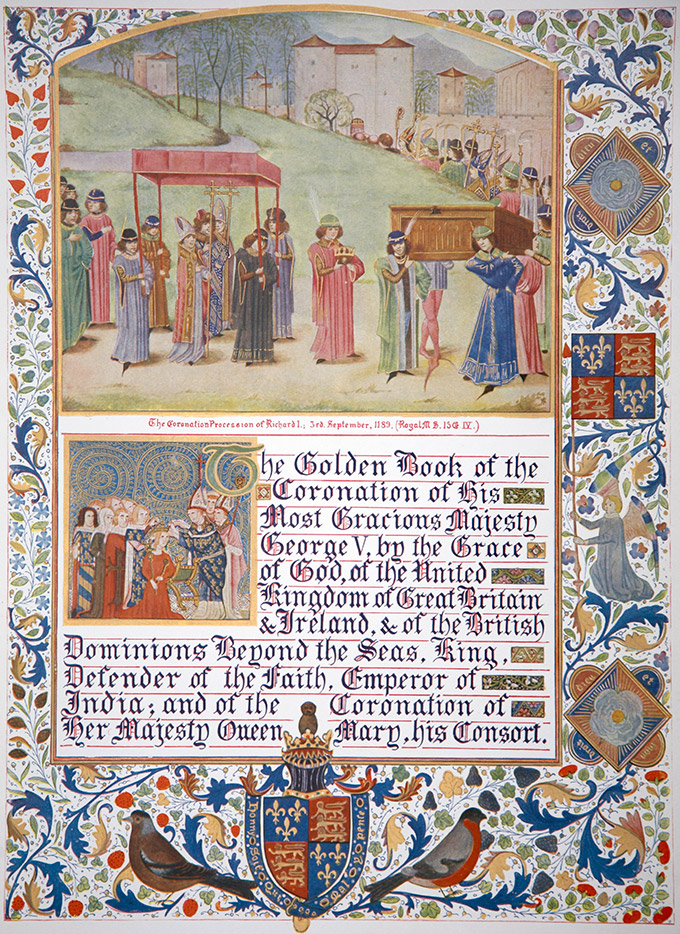 Richard I's coronation procession