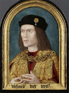 The remains of Richard III were discovered in a car park in 2012