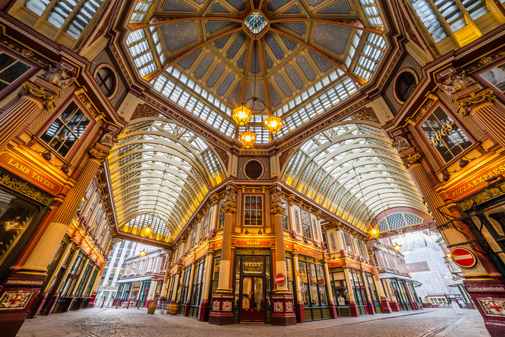 Leadenhall Market in the City of London | Roman London | Romans