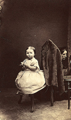Unknown Child, circa 1860s, by Ross and Thomson. When We Were Young exhibition, National Galleries of Scotland