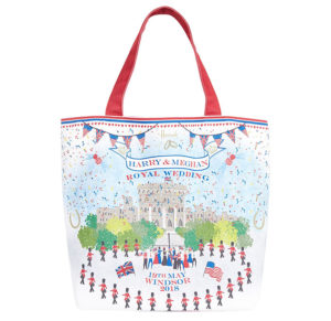 Royal Wedding Souvenirs - Harrods Tote Bag copy