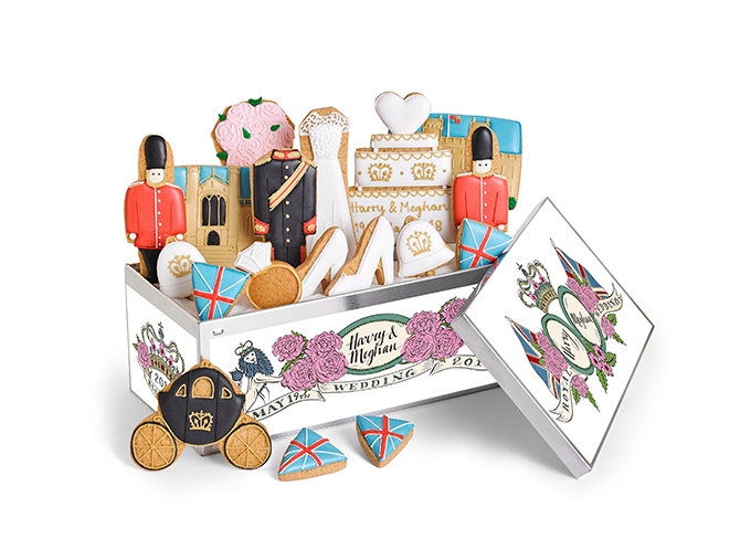 Royal Wedding souvenir from the Biscuiteers