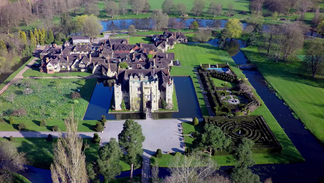 Video of Hever Castle & Gardens. Credit: Hever Castle & Gardens