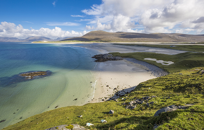 Seilebost, Luskentyre Sands, Isle of Harris, Outer Hebrides, Scotland. Beautiful photos of Harris and Lewis