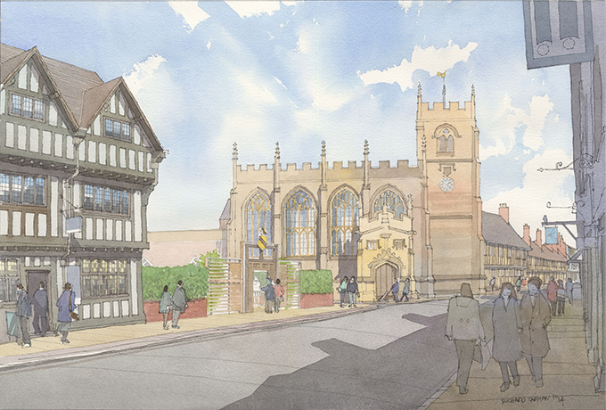 Shakespeare's New Place, Stratford-upon-Avon