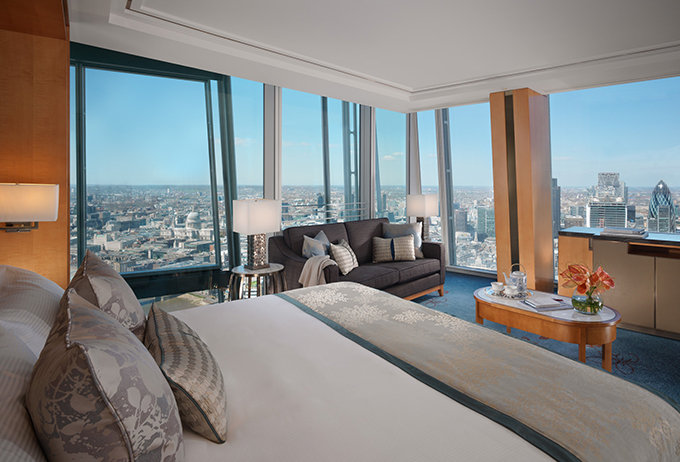 Shangri-La Hotel, At The Shard, London - Guest Bedroom MED RES