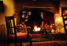 Pull up a chair by the fireside at the Shibden Mill Inn, Yorkshire