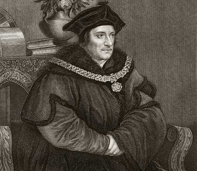 Sir Thomas More}s four daughters were highly educated. Credit: Shutterstock