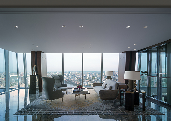 Sky Lobby - Shangri-La Hotel, At The Shard, London